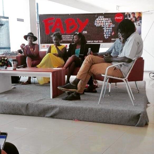 Photo du second panel des blogueurs et youtubeurs Faby2016