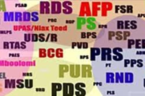 Article : La rationalisation des partis politiques au Sénégal