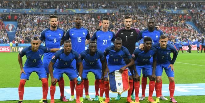 Equipe de France contre l'Allemagne Euro 2016