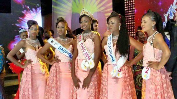 Les élues de cette année 2016 : Miss Togo