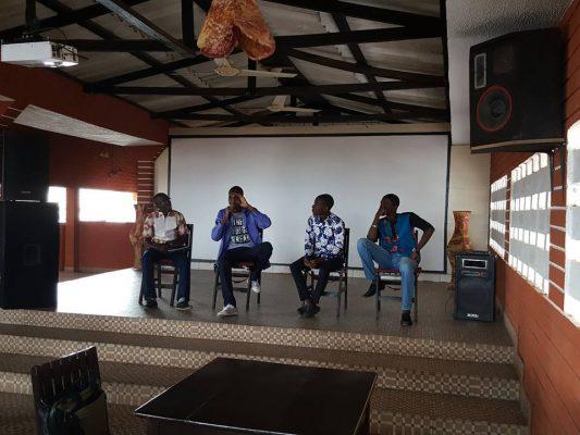 Panélistes Café Numérique Lomé startups
