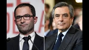 Bénoît Hamon et François Fillon