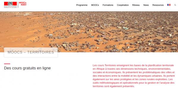 Moocs4Dev - EPFL - Moocs Afrique